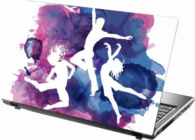 Sab Kuch Print cute girls 320 Polyester Laptop Decal 14.1