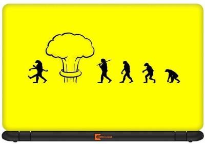 Urban Monk Evolution Gone Wrong Vinyl Laptop Decal