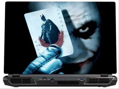 SkinShack Joker & The Joker Card (13.3 inch) Vinyl Laptop Decal 13.3