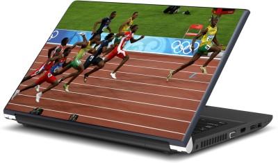 Artifa Usain Bolt Running Printed Vinyl Laptop Decal 15.6