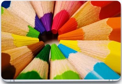 Trendsmate Color Pencils 3M Vinyl and Lamination Laptop Decal 15.6