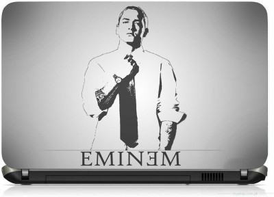 VI COLLECTIONS MEN IN BLACK AND WHITE PRINTED VINYL Laptop Decal 15.6