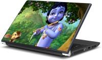 Artifa Lord Krishna playing Flute Vinyl Laptop Decal 15.6