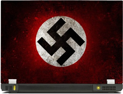 SkinShack New 3D Nazi Swastika (14.1 inch) Vinyl Laptop Decal 14.1
