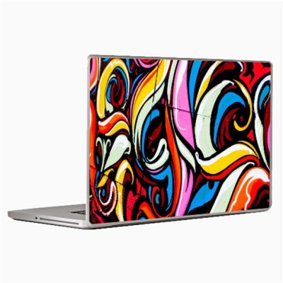 Theskinmantra Graffiti on gadget Laptop Decal 13.3