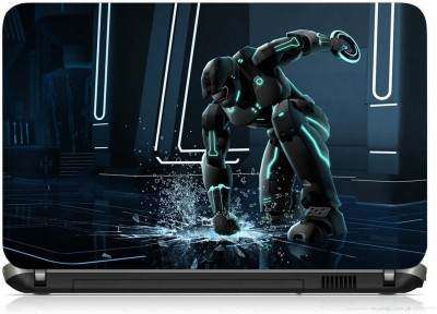 VI COLLECTIONS ANGRY ROBOT PRINTED VINYL Laptop Decal 15.6