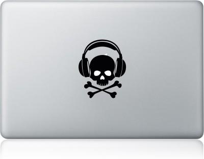 Clublaptop Sticker Skull Headphone 13 inch Vinyl Laptop Decal 13