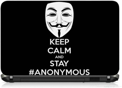 VI COLLECTIONS KEEP CALM ZORO MASK PRINTED VINYL Laptop Decal 15.6