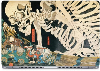 Posterboy Skeleton Art Vinyl Laptop Decal 15.6