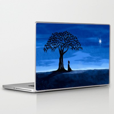 Theskinmantra Zen Moment PolyCot Vinyl Laptop Decal 15.6
