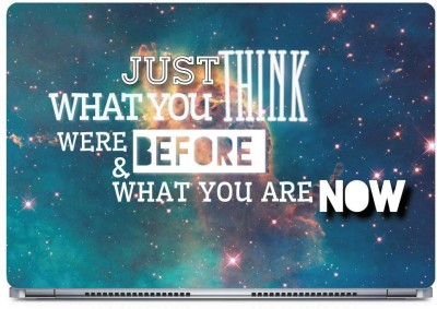 Posterboy Just think Vinyl Laptop Decal 15.6
