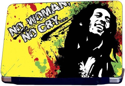 KKC Bob Marley Quote Vinyl Laptop Decal