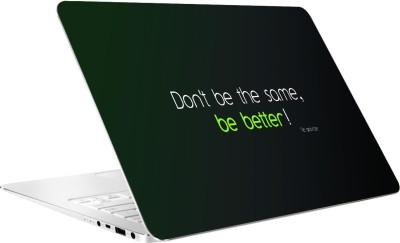 AV Styles Don,T Be The Same Vinyl Laptop Decal
