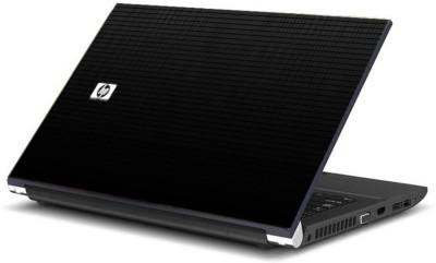 Print Shapes HP logo Black Vinyl Laptop Decal 15.6