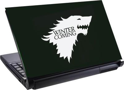 Greenrock Skin Winter is Coming Vinyl Laptop Decal 14.9