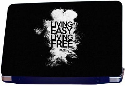Incraze Living Easy Living Free Vinyl Laptop Decal 15.6