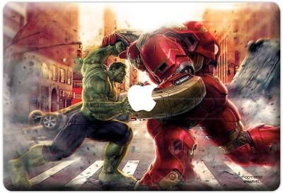 Planet Superheroes Monster vs Machine Vinyl Laptop Decal 17