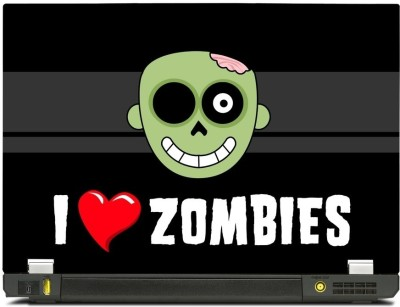Skinkart Zombie Laptop Skin Type 44 (Screen Size 10.1 inch) Premium quality Imported Vinyl Laptop Decal
