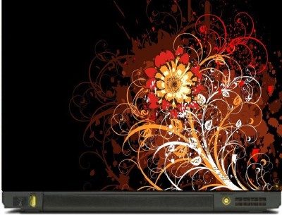 livestash HD FLOWERS vinyl Laptop Decal