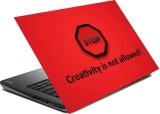 hifex CREATIVITY QUOTE vinyl Laptop Deca...
