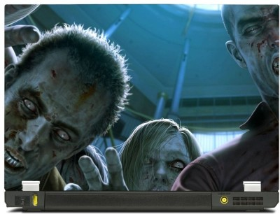 Skinkart Zombie Laptop Skin Type 28 (Screen Size 17 inch) Premium quality Imported Vinyl Laptop Decal 17