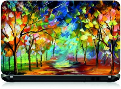 NG Stunners Forest Painting Vinyl Laptop Decal 15.6