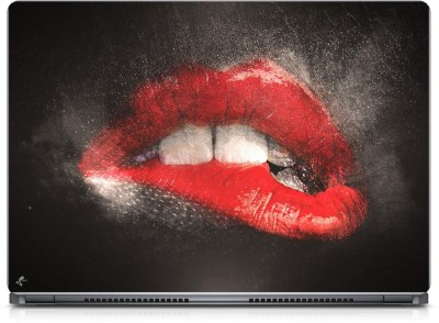 Seamen Seductive Lips Vinyl Laptop Decal 15.6