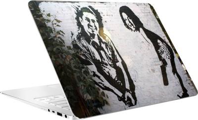AV Styles Sachin Sketch On Wall By Av Styles Vinyl Laptop Decal 15.6
