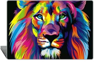 Digitek World Skin of Abstract Lion High Quality 3M Vinyl Laptop Decal
