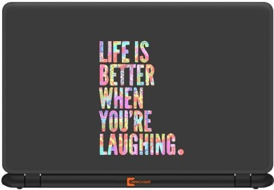 Ownclique Life is Better Vinyl Laptop Decal 15.6