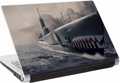 142Skin Submarine Art Vinyl Laptop Decal 15.6