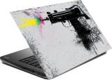 hifex FIRING GUN vinyl Laptop Decal 15.6
