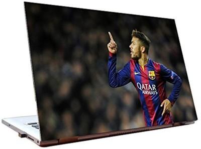 Dealmart Neymar - FC Barcelona - Brazil football team - HD Quality Vinyl Laptop Decal 15.6