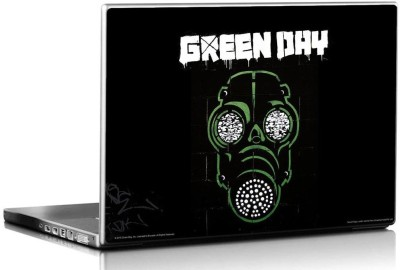 Bravado Green Day Mask Vinyl Laptop Decal 15.6