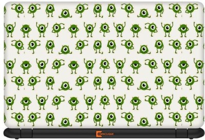 Ownclique Monster Inc Mike Pattern Vinyl Laptop Decal 17