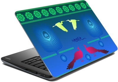 meSleep Abstract Peacock for Sachita Vinyl Laptop Decal