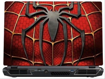 SkinShack Spiderman Red Logo Superhero (17 inch) Vinyl Laptop Decal 17