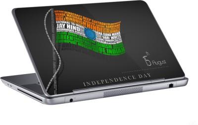 AV Styles indian flag on independence day skin Vinyl Laptop Decal 15.6