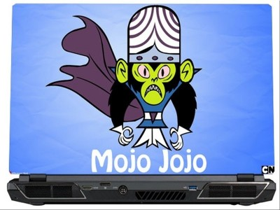 SkinShack Mojo Jojo - Powerpuff Girls (12.1 inch) Vinyl Laptop Decal 12.1