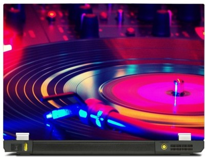 Skinkart Musical Graphics Laptop Skin Type 9 (Screen Size 10.1 inch) Premium quality Imported Vinyl Laptop Decal 10.1