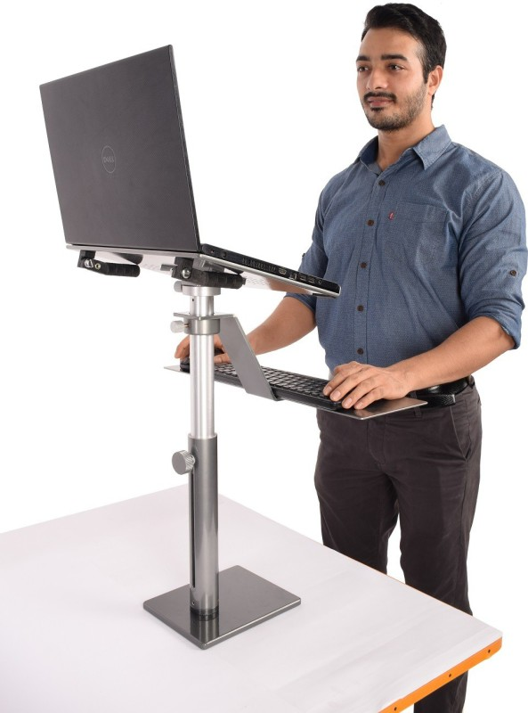 Fitizen Zendesk 2.0 - Standing Desk - An Ergonomic Height Adjustable Laptop Stand