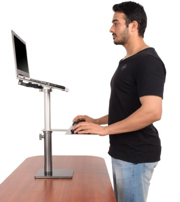 Fitizen Zendesk Standing Desk - An Ergonomic Height Adjustable Laptop Stand