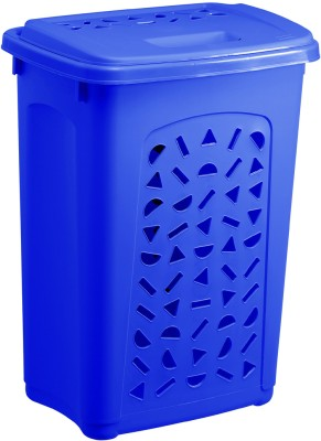 Rotho 60 L Blue Laundry Basket