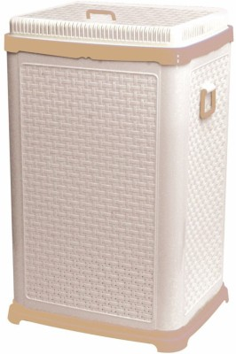 Gold-Dust-20-L-Beige-Laundry-Basket