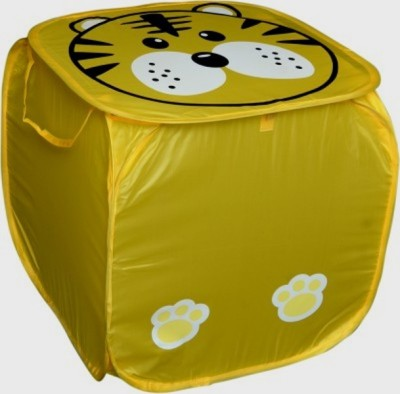 Orient Home 10 L Yellow Laundry Basket