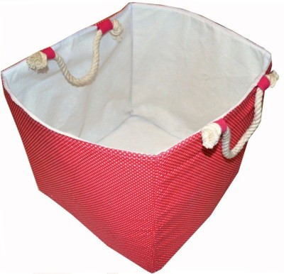 Creative Textiles 10 L Red Laundry Basket