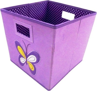 Treasure Hunt 4 L Purple, Yellow, White Laundry Basket