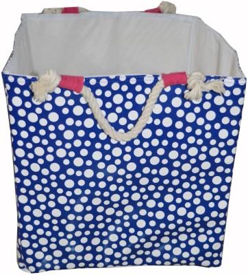 Creative Textiles 10 L Blue Laundry Basket