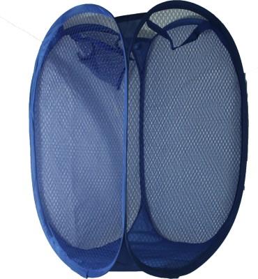 Abhilashas Store 20 L Blue Laundry Baske...