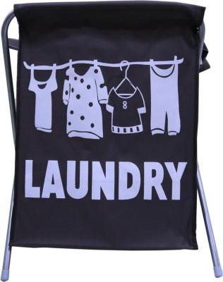 Homart More than 20 L Black Laundry Basket